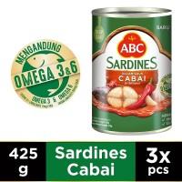 ABC Sarden Saus Cabai 425 g - Multi Pack 3 pcs