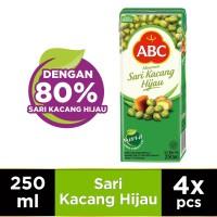 ABC Minuman Sari Kacang Hijau 250 ml - Multi Pack 4 pcs
