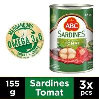 ABC Sarden Saus Tomat 155 g - Multi Pack 3 pcs