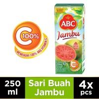 ABC Jus Jambu 250 ml - Multi Pack 4 pcs