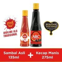 Bundling ABC Sambal Asli 135ml & Kecap Manis 275ml