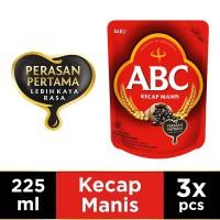 ABC Kecap Manis 225 ml - Multi Pack 3 pcs