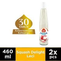 ABC Sirup Squash Delight Leci 460 ml - Twin Pack