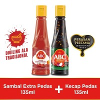 Bundling ABC Sambal Extra Pedas 135ml & Kecap Pedas