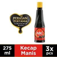 ABC Kecap Manis 275 ml - Multi Pack 3 pcs