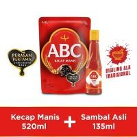 Bundling ABC Kecap Manis 520ml & Sambal Asli 135ml