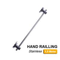 HAND RAILLING STAINLES STEEL 1.5 METER KOLAM RENANG