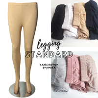 Celana Legging kaos rayon spandex