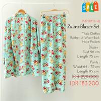 Setelan Wanita SALE - Zaraa Blazer Set