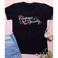 Kaos Wanita elegance beauty Kaos tee tumblr t-shirt murah adem Kaos Wa