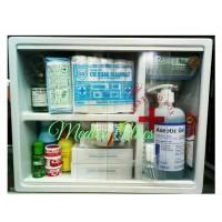 Kotak p3k dinding isi Flash Sale lengkap / paket p3k / kotak p3k