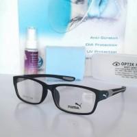 frame puma/kacamata minus/gratis lensa New Production