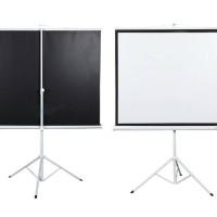 "Screen Projector Triport 70"" Top Notch / Layar Proyektor Kaki 70"