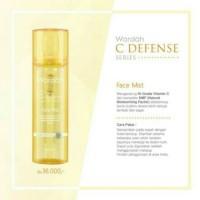 ORIGINAL Wardah C Defense Best Quality Face Mist Spray Semprot Make