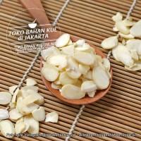 Natural Almond Sliced Kacang Terlaris Almond Slice Tipis Blue D