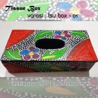 Kotak Tisu Tissue Box Ethnic 01 Bali Bisa Buat Hiasan Meja