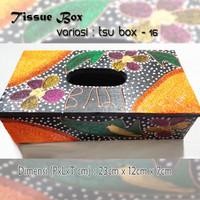 Kotak Tisu Tissue Box Ethnic 16 Bali Bisa Buat Hiasan Meja