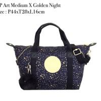 Kipling Art Medium Golden Night ori