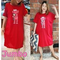 Damai fashion jakarta - long dress JUMBO wanita INGGAR - konveksi mur