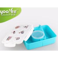 LUNCH BOX YOOYEE 513 PINK & BLUE