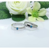 promo sepasang cincin perak murah
