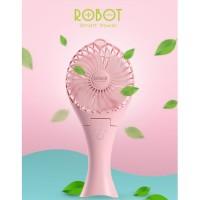 Robot portable fan RTBF07 mermaid shape kipas angin genggam powerbank