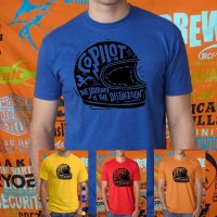 Kaos/Tshirt/baju CO PILOT HELM BIKERS