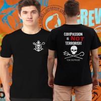 Kaos/baju/tshirt SEA SEPHERD NAT GEO EDITION