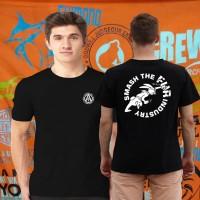 Kaos/tshirt/baju PENCINTA BINATANG ALF RABIT PUNCH INDUSTRIES