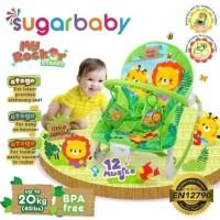 Sugar Baby Bouncer My Rock3r Stages (gambar little jungle). kursi bayi