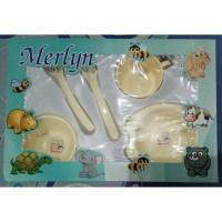 Perlengkapan Peralatan Merlyn Baby Feeding Set Alat Makan Bayi