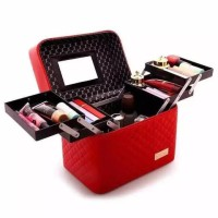 Tas Kosmetik / Beauty Case / Make Up Cosmetic Box / Kotak Perhiasan