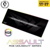 Armaggeddon Assault AS33 RGB Gaming Mouse Pad - Dimensi : 800x300x4mm