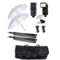 Paket Studio Payung + Flash Godox TT-560 II Internal Trigger
