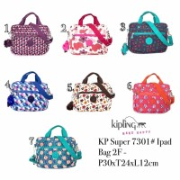 Tas kipling super 7301 ipad bag/tas jinjing bisa slempang import