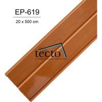 TECTO Plafon PVC EP-619 ( 20cm x 500cm )