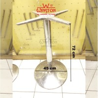 Table Leg Kaki Meja WINSTON Atas Silang Bawah Bulat Lingkar Tipe 1709