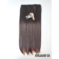 kimiko hairclip lurus STRAIGHT CD darkbrown 60cm thumbnail