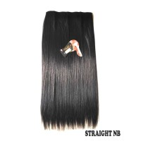 kimiko hairclip lurus STRAIGHT NB hitam 60cm thumbnail