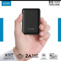 ACMIC B10 10.000mah Dual USB Power Bank 2A Fast Charging