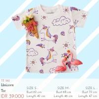 Kaos Anak Perempuan - Unicorn Kids Tee
