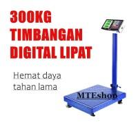 Timbangan duduk digital kapasitas 300kg/ Electrik platform scale 300kg