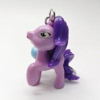gantungan kunci Little Pony ungu lonceng TIDAK ADA suara dan lampu