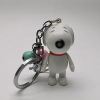 gantungan kunci Snoopy lonceng TIDAK ADA suara dan lampu
