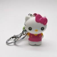 gantungan kunci Hello Kitty lonceng TIDAK ADA suara dan lampu