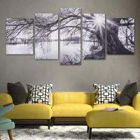 Harga Lukisan Abstrak Hitam Putih Katalog.or.id