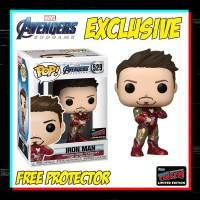Funko Pop Marvel - Avengers 4 Endgame - Iron Man Tony Stark NYCC 2019