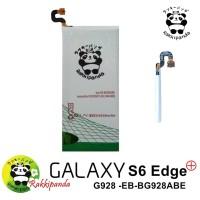 Baterai Rakkipanda For Samsung Galaxy S6 Edge Plus G928 Double IC