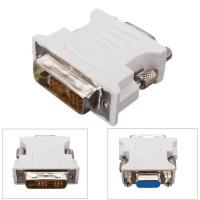 DVI-D (18 1) Dual Link Male to VGA HD15 Female Adapter Original