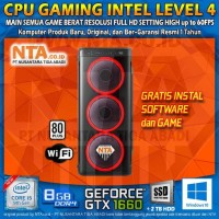 CPU GAMING INTEL LEVEL 4